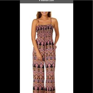 Angie size S jumpsuit strap adjust, front lace up